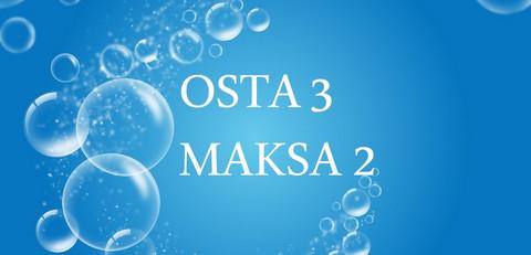 OSTA 3 MAKSA 2 PAKETTI Varkaus