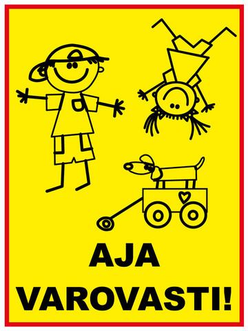 Varo lapsia 2 kyltti