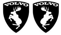 Volvo hirvitarra musta pari