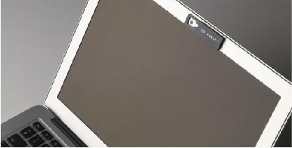 Webkameran suoja, omalla logo painatuksella