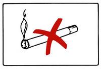 Tupakointikielto kyltti