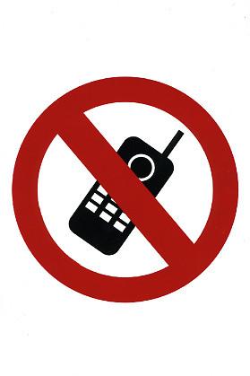 Kännykkäkielto tarra