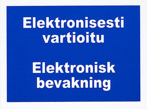 Elektronisesti vartioitu kyltti