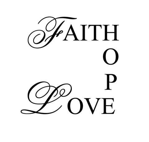 Faith, Hope, Love tarra
