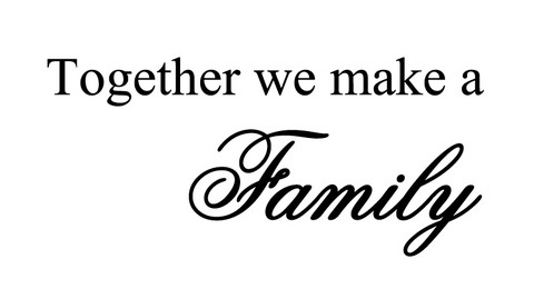 Together we make a family 2