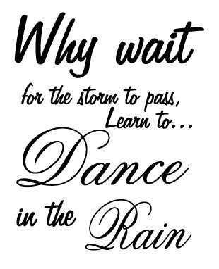 Dance in the rain tarra