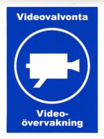 Videovalvonta tarra