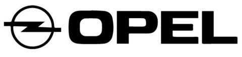 Opel logo tarra