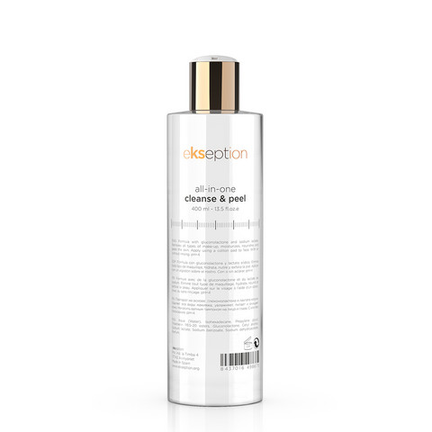 ekseption all-in-one cleanse & peel 400 ml