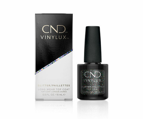 CND Vinylux Top Coat GLITTER