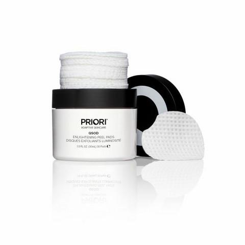 PRIORI Q+SOD Enlightening Peel Pads with Retinol