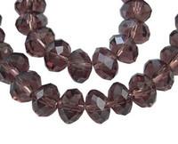 10mm Kristallilasihelmi: Violetti 8kpl