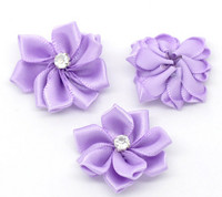 Satiinikukka: Violetti 1kpl