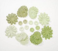 Paperikukat 32kpl: Vihreä