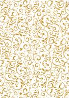Desing-kartonki: Kulta 1kpl