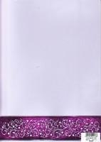 Desing-Kartonki: Violetti A4 1kpl
