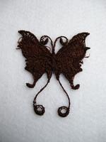 Pitsiperhonen: Ruskea 1kpl