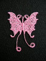 Pitsiperhonen: Vaaleanpunainen 1kpl