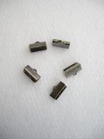 Nauhanpää 13mm: Musta 10kpl