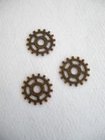 Steampunk-rengas: Kupari 5kpl