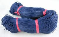 1 Vahattu Puuvillanauha: Tummansininen