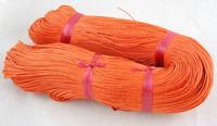 1mm Puuvillanauha: Oranssi