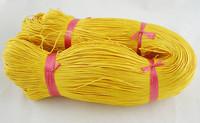 1mm Vahattu puuvillanauha: Keltainen
