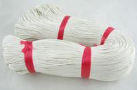 1mm Vahattu Puuvillanauha: Valkoinen