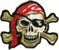 Piraatti-Kangasmerkki