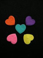 Sydän: Värimix 20kpl