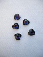 Sydän: Tummavioletti 9mm 20kpl