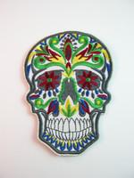 Sugar Skull-Kangasmerkki