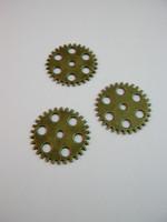 Steampunk-rengas: Pronssi 5kpl