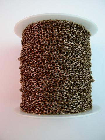 Kuvioitu Koruketju: Kupari 1m