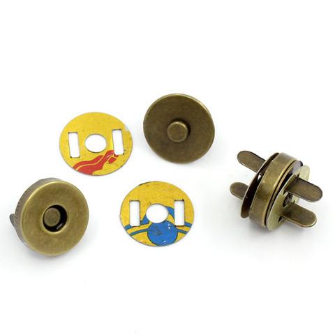 Magneettinappi 14mm: Pronssi 1kpl