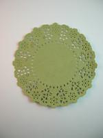 11cm Pitsipaperi: V.vihreä 5kpl