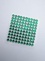 4mm Timattitarra: Vihreä 100kpl