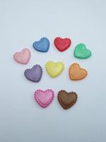 14mm Sydän: Värimix 10kpl