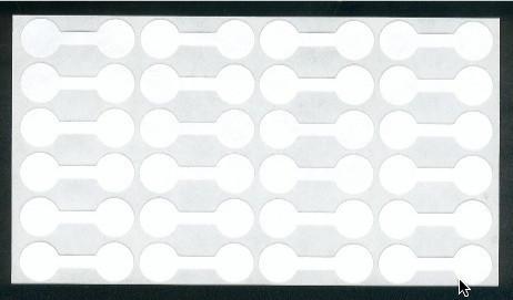 4,4x1,5cm Hinnoittelutarra: 18kpl