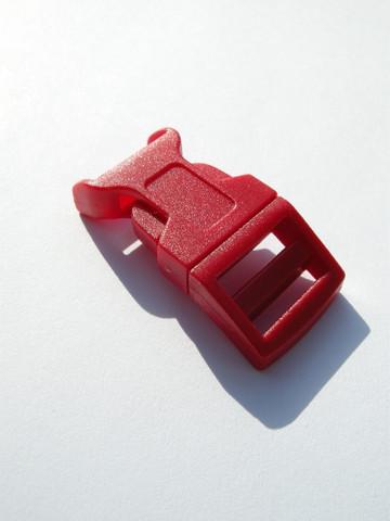 Muovilukko: Punainen 5x2cm 1kpl