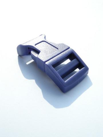 Muovilukko: Violetti 5x2cm 1kpl