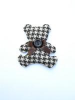 6x5,5cm Nalle-koristekuvio 1kpl