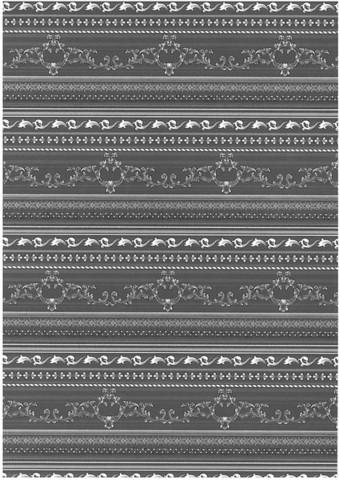 Glitterpaperi: Mustavalko 1kpl