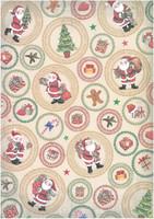 Glitterpaperi: Joulupukki 1kpl