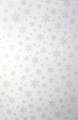 Design-kartonki: Lumihiutale 1kpl