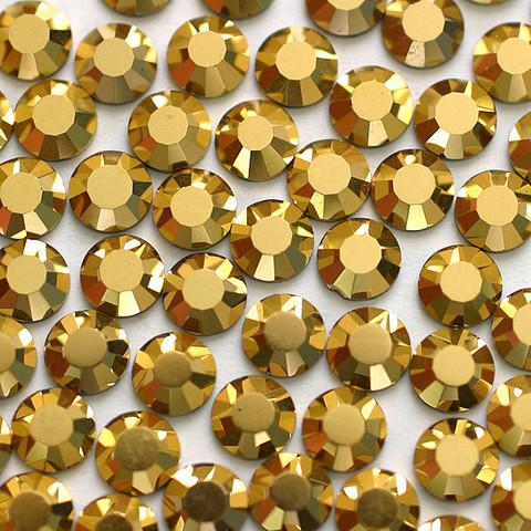 Kristallistrassi: Kulta SS20/5mm 100kpl