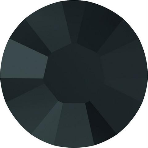 Kristallistrassi: Musta SS20/5mm 100kpl