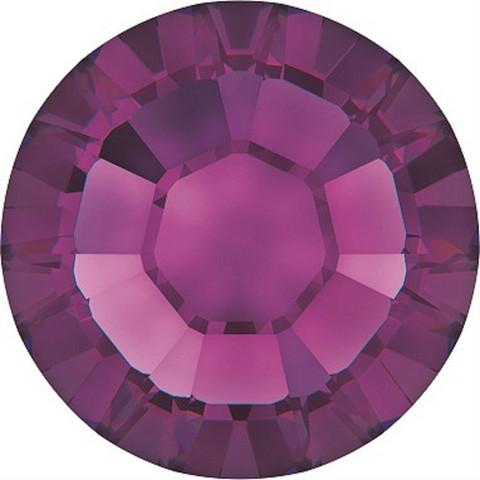 Kristallistrassi: Amethyst SS10/3mm 100kpl