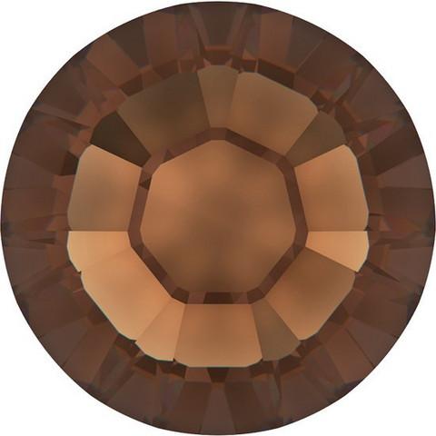 Kristallistrassi: Ruskea SS20/5mm 100kpl