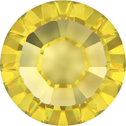 Kristallistrassi: Keltainen SS20/5mm 100kpl